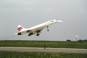 Concorde 102 / G-BOAB / British Airways ( BAW / BA ) / Prague - Ruzyne ( PRG / LKPR )