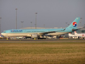 A330-323X / HL7586 / Korean Air ( KAL / KE ) / Prague - Ruzyne ( PRG / LKPR )