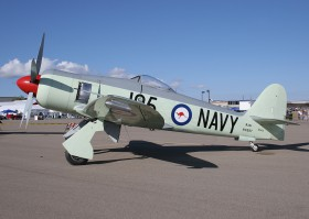 Hawker Sea Fury FB 11 / N260X / Private / Prescott ( PRC / KPRC )