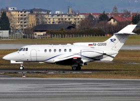 BAe125-700B / RA-02808 / Private / Salzburg ( SZG / LOWS )