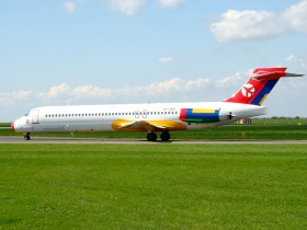 MD87 / OY-JRU / Danish Air Transport ( DTR / DX ) / Prague - Ruzyne ( PRG / LKPR )
