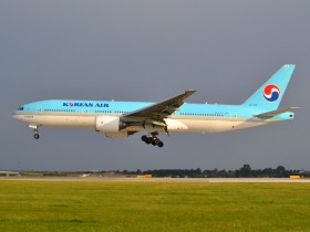 B777-2B5/ER / HL7764 / Korean Air ( KAL / KE ) / Prague - Ruzyne ( PRG / LKPR )