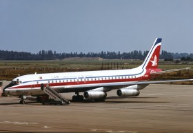 Dc8 62 f bolf lam linhas aereas de mocambique lam tm berlin schonefeld