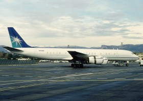 DC8-72 / N728A / Saudi Aramco Aviation / Nice ( NCE / LFMN )