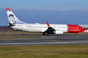 B737-86N / LN-NOM / Norwegian Air Shuttle ( NAX / DY ) / Prague - Ruzyne ( PRG / LKPR )