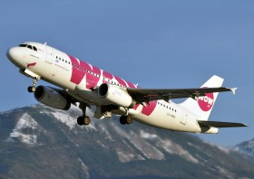 A320-232 / LZ-MDD / WOW Air ( WOW / WW ) / Salzburg ( SZG / LOWS )
