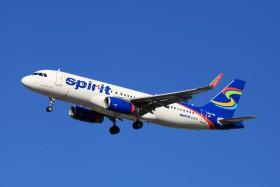 N627nk a320 232 new york la guardia lga klga for Spirit airlines new york